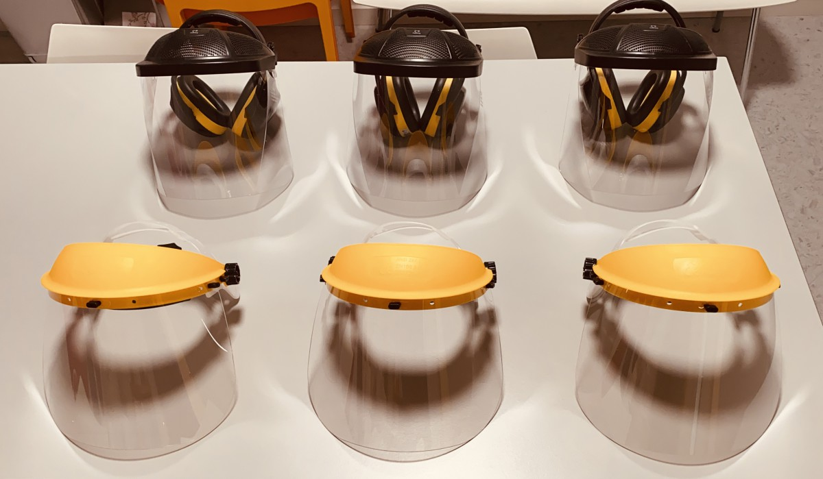 Corona faceshield